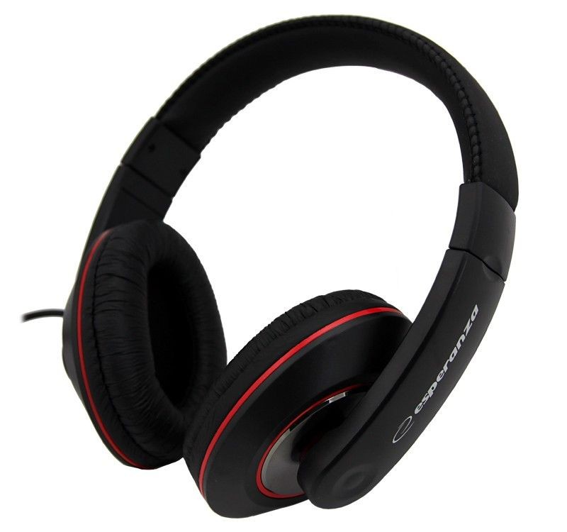 Esperanza Słuchawki Audio Stereo z Regulacją Głośności EH121 HIP-HOP | 5m