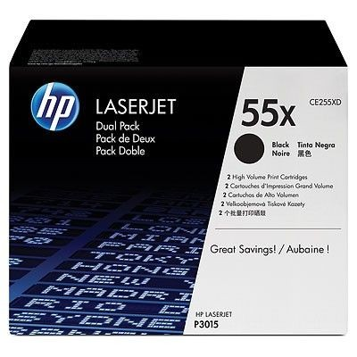 HP Toner HP black dual pack | 12500str