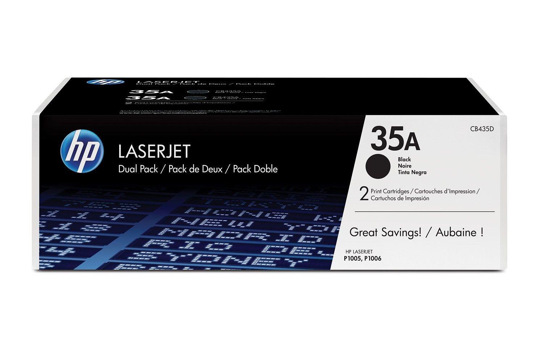 HP Toner HP black dual pack | 2x1500str | LaserJet P1005/P1006