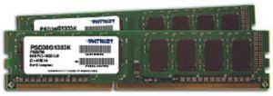 Patriot 2x4GB 1333MHz DDR3 Non-ECC CL9 DIMM kit