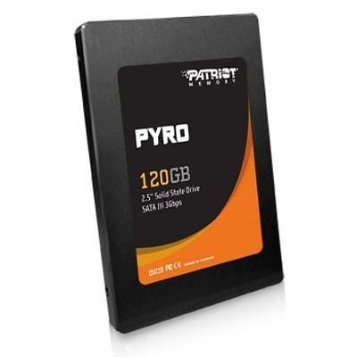 Patriot DYSK SSD 2.5 120GB Pyro 550/530 MB/s 85k IOPs /Patriot