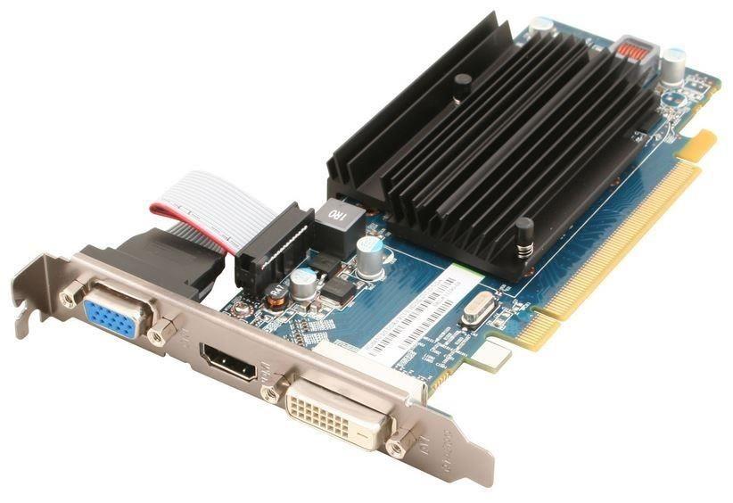 Sapphire Radeon HD 6450, 2GB DDR3 (64 Bit), HDMI, DVI, VGA, LITE