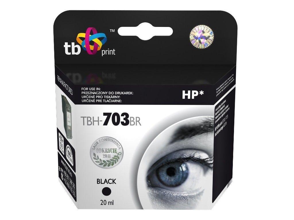 TB Print Tusz do HP DJ D730/F735 (HP nr 703 CD887AE) TBH-703BR BK ref.