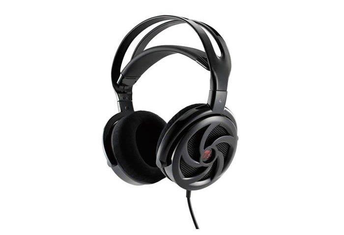Thermaltake eSPORTS słuchawki dla graczy - Shock Spin Black - Bass enhancement