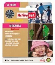 ActiveJet Tusz ActiveJet AL-100M | Magenta | 13 ml | Lexmark 14N1070E