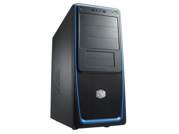 Cooler Master obudowa komputerowa Elite 311 Basic czarno-srebrna (bez zasilacza)