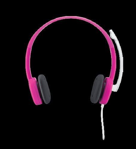 Logitech Stereo Headset H150 Cranberry