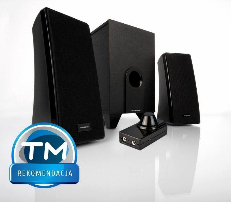 ModeCom  Głośniki MC-S2 czarne [ 2.1 ] Stereo