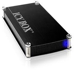 RaidSonic Technology IcyBox Obudowa na Dysk 3,5'' SATA z 1x USB 3.0, Czarna