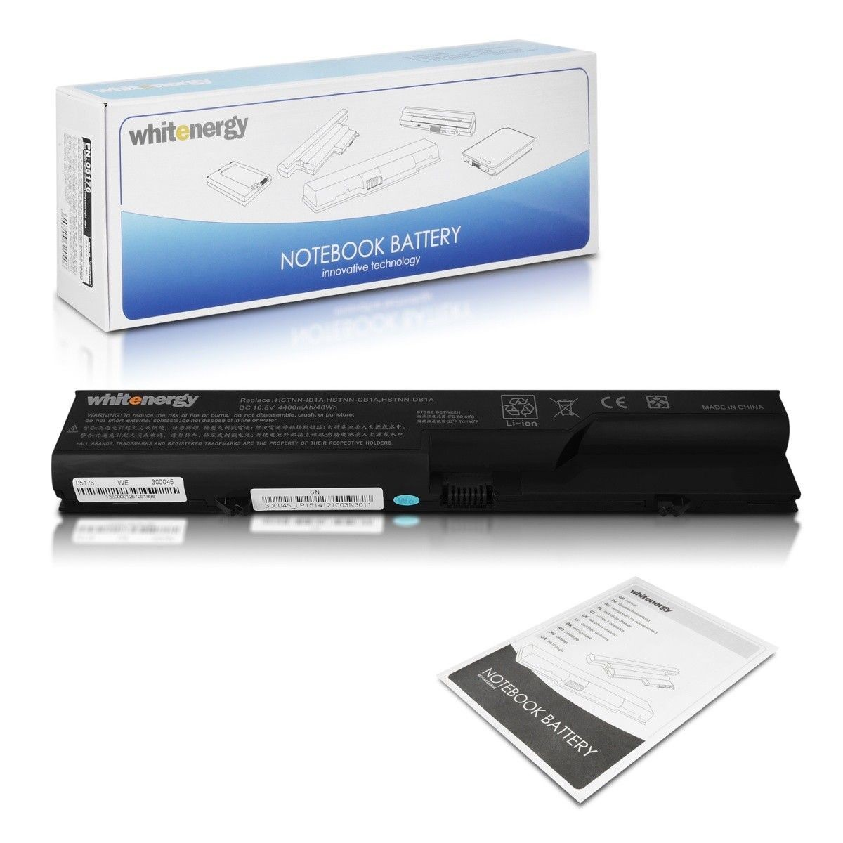 Whitenergy bateria do laptopa HP ProBook 4320s 4320t 4520s 10.8V Li-Ion 4400mAh