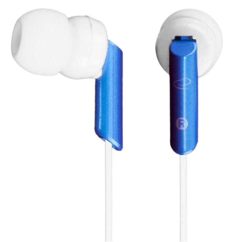 Esperanza Słuchawki Douszne Stereo EH129 Biało - Niebieski