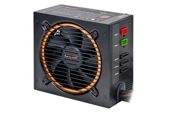 be quiet! Pure Power L8-CM-530W (80 plus BRONZE, activePFC, 2xPCI-E)