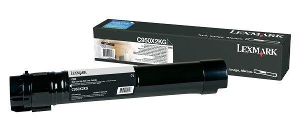 Lexmark toner black (36000str, C950)