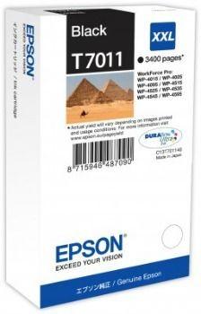 Epson Tusz T701 black XXL | WP4000/4500