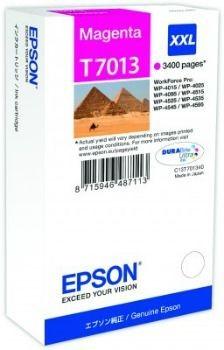 Epson Tusz T701 magenta XXL | 3400str | WP4000/4500