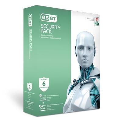 Eset Security Pack BOX (3 user, 3 lata)