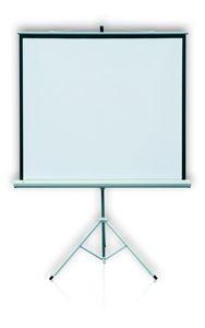 2x3 Ekran PROFI przenośny na trójnogu 124X124