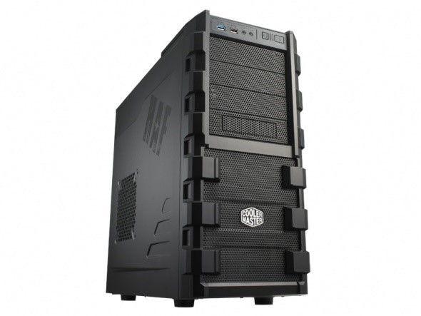 Cooler Master HAF 912 USB 2.0 x2, Audio x1, Mic x1, Spk x1, Black, Midle-Tower