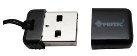 Pretec i-Disk Poco USB 2.0 - 16GB Black- Pamięć USB NANO czarna