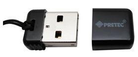 Pretec i-Disk Poco USB 2.0 - 8GB Black- Pamięć USB NANO czarna