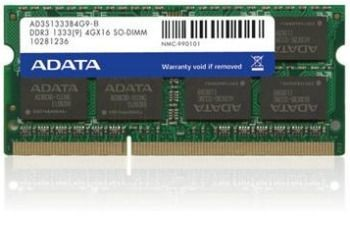 A-Data 2x8GB 1333MHz DDR3 CL9 SODIMM 1.5V - Retail
