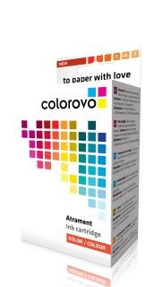 Colorovo atrament 985-C (Brother LC985C, Cyan, 560str, 19ml)