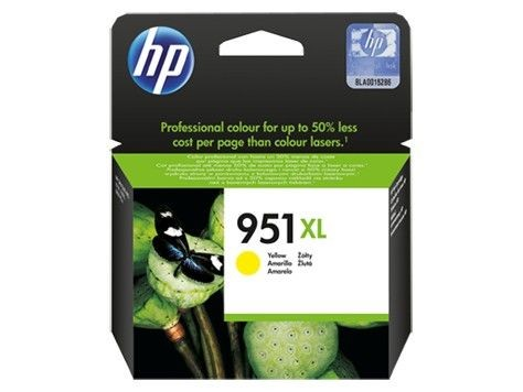 HP tusz 951XL yellow (Officejet)