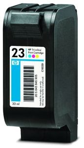 HP głowica drukująca 23 tri-colour (30ml, dj710c/720c/815c,1120/1125c)