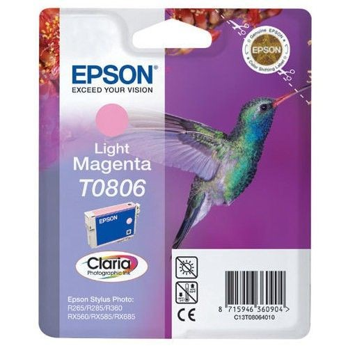Epson tusz T0806 light magenta Stylus Photo R265/285/360 RX560/585/685
