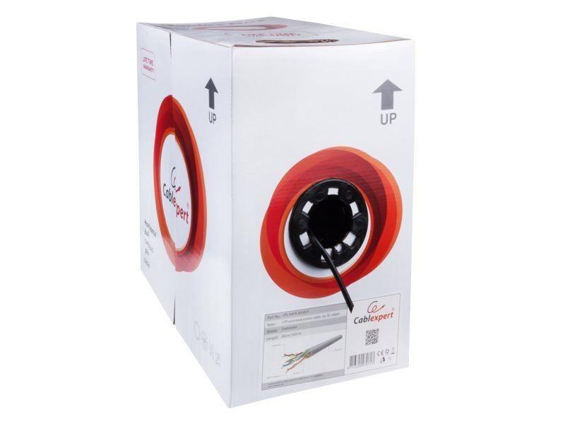 Gembird kabel instalacyjny skrętka FTP (4x2, kat. 5e, drut 305m, zewnętrzny)