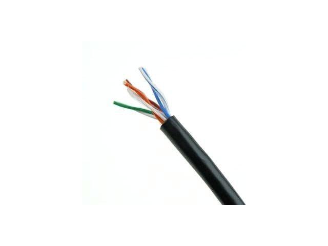 Gembird kabel instal.UTP,kat. 5e, drut,CU-czysta miedź 305m (zewnętrzny/outdoor)