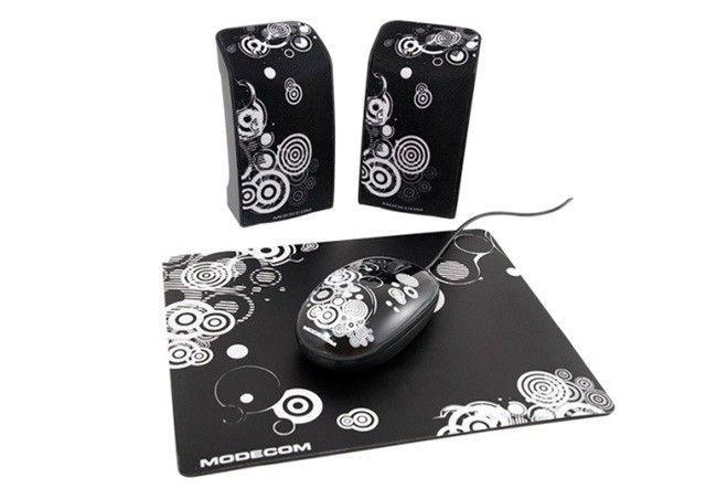 ModeCom głośniki MC-STARTER ART 2.0 czarne