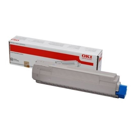 OKI toner cyan do MC851/861 (7300str)