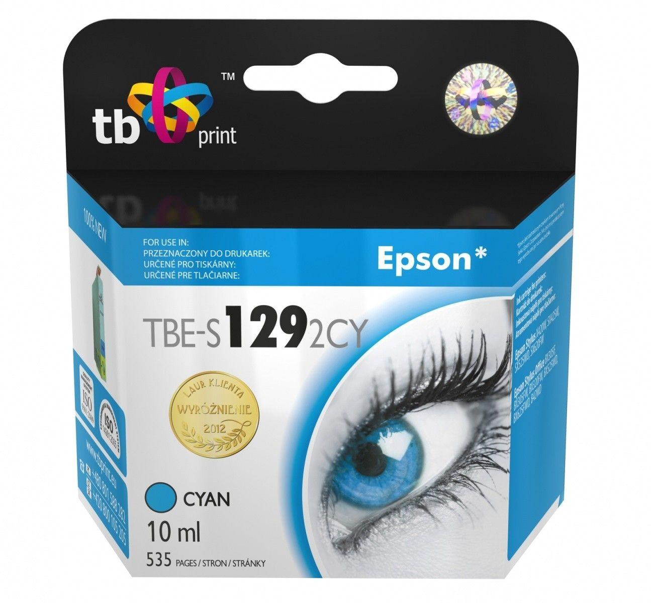 TB Print Tusz do Epson SX420W TBE-S1292CY CY