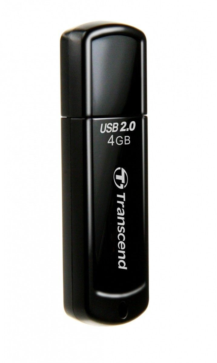 Transcend pamięć USB Jetflash 350 4GB Czarny