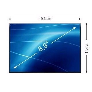 Whitenergy matryca LCD (podś. LED, 8.9'', 1024x600, 40pin, glossy)