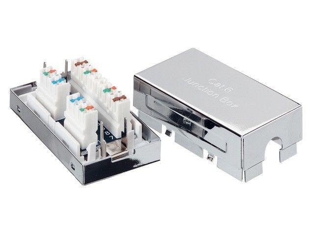 Equip adapter złączka sieciowa krzyżowa kat. 6 ekranowana