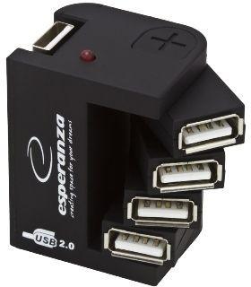 Esperanza EA126 hub 4 porty USB 2.0