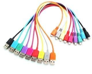 4World Kabel USB 2.0 MICRO 5pin AM/B MICRO transfer/ładowanie 1.0m pomarańczowy