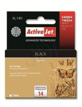 ActiveJet Tusz ActiveJet AL-14N | Czarny | 14 ml | Lexmark 18C2090E