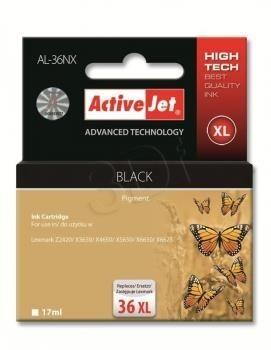ActiveJet Tusz ActiveJet AL-36NX | Czarny | 17 ml | Lexmark 18C2170E