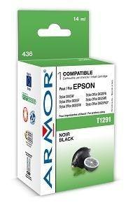 Armor wkład atramentowy do Epson Epson SX425W, Stylus Office BX305F (T129140, czarny, 14ml)