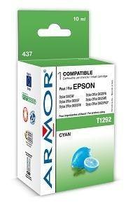Armor wkład atramentowy do Epson Epson SX425W, Stylus Office BX305F (T129240, cyan, 10ml)