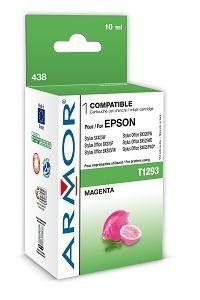Armor wkład atramentowy do Epson Epson SX425W, Stylus Office BX305F (T129340, magenta, 10ml)