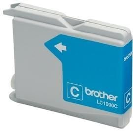 Brother Tusz LC1000CBP cyan Blister Pack   400str   DCP330C / DCP540CN / MFC5460