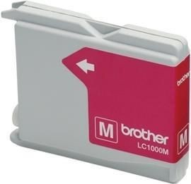 Brother Tusz LC1000MBP magenta Blister Pack | 400str | DCP330C / DCP540CN
