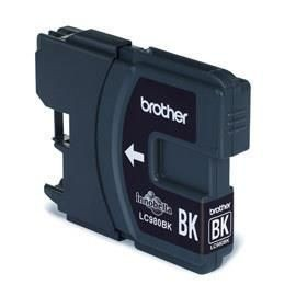 Brother Tusz LC980BKBP black Blister Pack | 300str | DCP145C / DCP165C / MFC250C