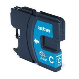 Brother Tusz LC980CBP cyan Blister Pack | 260str | DCP145C / DCP165C / MFC250C