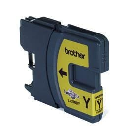 Brother Tusz LC980YBP yellow Blister Pack | 260str | DCP145C / DCP165C / MFC250C