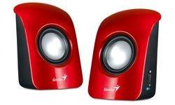 Genius głośniki SP-U115 (czerwone)
